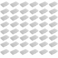 Sterilite Translucent Plastic Pencil Case School Supply Storage Box, (48 Pack) - 1 Piece