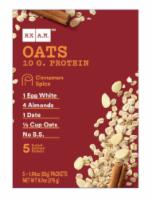 RX A.M. Oats Cinnamon Spice Oatmeal Packets