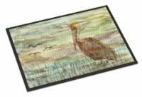 Carolines Treasures  SC2011JMAT Brown Pelican Sunset Indoor or Outdoor Mat 24x36