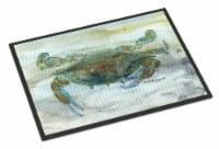 Crab a leg up Watercolor Indoor or Outdoor Mat 18x27