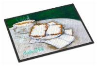 Carolines Treasures  MW1271JMAT Breakfast Delight Beignets Indoor or Outdoor Mat - 24Hx36W