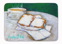Carolines Treasures  MW1271RUG Breakfast Delight Beignets Machine Washable Memor