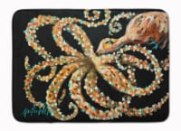 "Carolines Treasures  MW1275RUG Eye On You Octopus Machine Washable Memory Foam M - 19 X 27"""