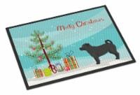 Carolines Treasures  CK3844JMAT Balck Jug Christmas Tree Indoor or Outdoor Mat 2 - 24Hx36W