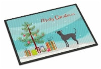 Argentine Pila Dog Christmas Tree Indoor or Outdoor Mat 18x27