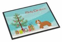 Carolines Treasures  CK3827MAT Doxiepoo #2 Christmas Tree Indoor or Outdoor Mat