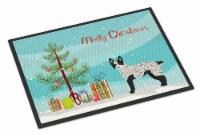 Carolines Treasures  CK3877MAT Texas Heeler Christmas Tree Indoor or Outdoor Mat
