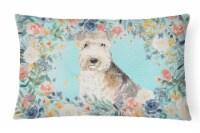 Carolines Treasures  CK3420PW1216 Lakeland Terrier Canvas Fabric Decorative Pill