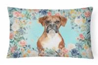 Carolines Treasures  CK3431PW1216 Boxer Canvas Fabric Decorative Pillow - 12Hx16W