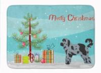 Aussiedoodle #2 Christmas Tree Machine Washable Memory Foam Mat