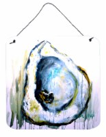 Carolines Treasures  MW1300DS66 Aqua Sand Oyster Wall or Door Hanging Prints - 6HX6W