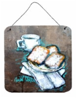 Carolines Treasures  MW1344DS66 Beignets Piping Hot Wall or Door Hanging Prints - 6HX6W