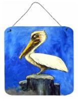 Carolines Treasures  MW1352DS66 Pelican Texas Pete Wall or Door Hanging Prints - 6HX6W