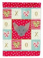 Carolines Treasures  CK5143CHF Oriental Shorthair Cat Flag Canvas House Size