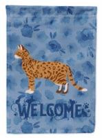 Carolines Treasures  CK4854GF Cheetoh #3 Cat Welcome Flag Garden Size