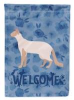 Carolines Treasures  CK4857GF Colorpoint Longhair #2 Cat Welcome Flag Garden Siz