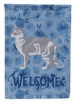 Australian Mist #2 Cat Welcome Flag Canvas House Size