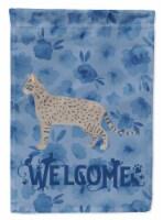 Carolines Treasures  CK4966CHF Safari #2 Cat Welcome Flag Canvas House Size