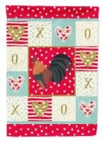 Carolines Treasures  CK5263CHF Dutch Bantam Chicken Love Flag Canvas House Size - House Size