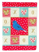Carolines Treasures  CK5510CHF Bunting Love Flag Canvas House Size