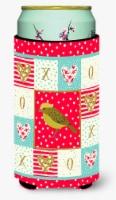 Lizard Canary Love Tall Boy Beverage Insulator Hugger - Tall Boy