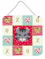 Carolines Treasures  CK5080DS66 American Curl Cat Love Wall or Door Hanging Prin