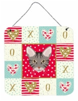 Carolines Treasures  CK5138DS66 Ocicat Cat Love Wall or Door Hanging Prints