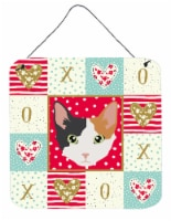 Carolines Treasures  CK5166DS66 Skookum Cat Love Wall or Door Hanging Prints