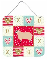 Carolines Treasures  CK5406DS66 Kerry Hill Sheep Love Wall or Door Hanging Print