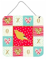 Carolines Treasures  CK5501DS66 Border Canary Love Wall or Door Hanging Prints