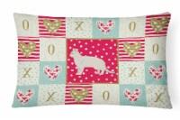 American Shorthair #2 Cat Love Canvas Fabric Decorative Pillow