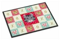 American Curl Cat Love Indoor or Outdoor Mat 24x36