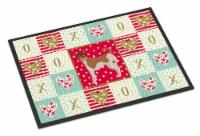 Carolines Treasures  CK5896JMAT Tenterfield Terrier Love Indoor or Outdoor Mat 2