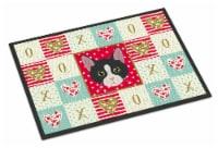 American Polydactyl Cat Love Indoor or Outdoor Mat 18x27