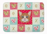 Carolines Treasures  CK5132RUG Manx Cat Love Machine Washable Memory Foam Mat