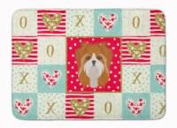 Yorkshire Terrier Love Machine Washable Memory Foam Mat