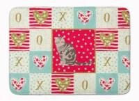 Foldex Exotic Fold Cat Love Machine Washable Memory Foam Mat