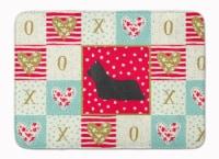 Skye Terrier Love Machine Washable Memory Foam Mat