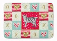 American Bobtail #1 Cat Love Machine Washable Memory Foam Mat