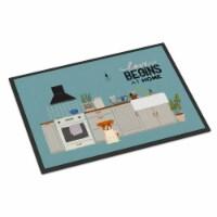 Jack Russell Terrier Kitchen Scene Indoor or Outdoor Mat 18x27 - 18Hx27W
