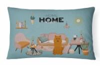 Karelian Bear Dog Sweet Home Canvas Fabric Decorative Pillow
