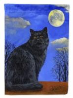 Carolines Treasures  PPP3142GF Black Cat Hocus Pocus Halloween Flag Garden Size - Garden Size