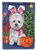 Carolines Treasures  PPP3137CHF Westie for All Seasons Flag Canvas House Size
