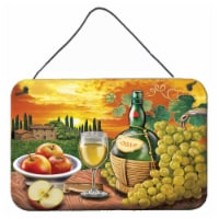 Soave, Apple, Wine and Cheese Wall or Door Hanging Prints - 8HX12W