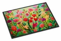 Carolines Treasures  PPD3024JMAT Wild Beauty Flowers Indoor or Outdoor Mat 24x36 - 24Hx36W