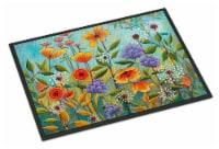 Carolines Treasures  PPD3016MAT Fresh Air Flowers Indoor or Outdoor Mat 18x27 - 18Hx27W