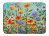 Fresh Air Flowers Machine Washable Memory Foam Mat