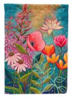 Carolines Treasures  PPD3006GF Mon Jardin II Flowers Flag Garden Size - Garden Size