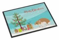 Turkish Hamster Merry Christmas Indoor or Outdoor Mat 24x36 - 24Hx36W