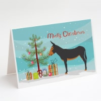 Catalan Donkey Christmas Greeting Cards and Envelopes Pack of 8 - A7
